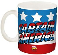 Zak Designs Marvel Comics Captain America Coffee Cup Mug, 11 oz