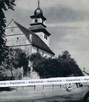 Willsbach - Dorfkirche - Obersulm - um 1955 - RAR        J 24-16