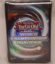 Carta YU GI OH Sleeves Shield copertine Deck Protector WCQ World Championship dei qualificatori