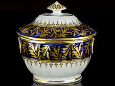 c1790 Chamberlain Worcester Porcelain Sugar Dish