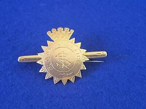 Rare Find Antique 1900s-1930s 9ct Gold Salvation Army Badge Bar Brooch 3.9g
