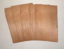 Placage MERISIER 23 x 14 cm en 8/10 mm Lot de 5 Bois Marqueterie Rénovation