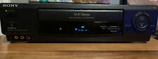 New ListingSony Slv-688Hf Vcr Hi-Fi Stereo Vhs Player & Recorder Tested & Working No Remote