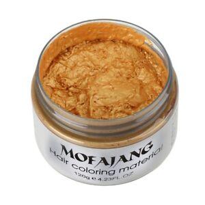 Mofajang Produits Coiffants Style Cire de Couleur pour les Cheveux Teinture N2M7