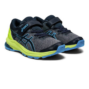Asics Boys GT-1000 10 PS Running Shoes Trainers Sneakers Grey Sports Breathable
