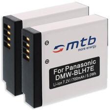 2x Batería DMW-BLH7 para Panasonic Lumix DMC-GM1, GM5, Lumix DMC-GF7