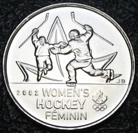 RCM - 2009 - 25-cents - Women's Ice Hockey - Non-colorized - Uncirculated