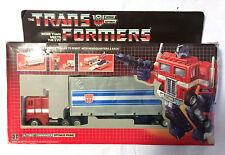G1 1984 OPTIMUS PRIME • C8 • 100% COMPLETE • GENERATION ONE TRANSFORMER