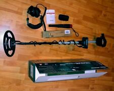 White's Treasure Master Metal Detector With Earphones, Pinpointer, Apron all New