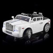 SPORTrax Rolls Royce Phantom Style Kids Ride on Car, FREE MP3 Player, RRWW