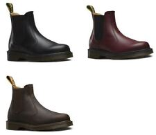 Dr. Martens Block Heel Leather Boots for Women