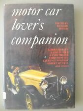 Motor Car Lover's Companion ~ 1965 ~ Hough ~ Antique Vintage Classic Automobiles