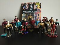 STAR TREK Action Figure Lot/ 16 Total!  Next Generation/ Deep Space Nine/ Kirk!