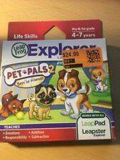 New Leap Frog Leapster Leappad Explorer Game Pet Pals 2 Ages 4-7 Yrs