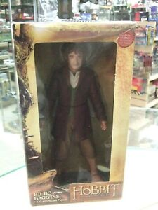 "BILBO BAGGINS The Lord of the Rings Hobbit Movie 1/4 Scale 10"" Figure by Neca"