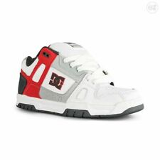 DC Shoes Stag Grey White Red