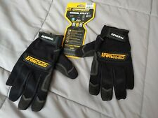 Ironclad General Utility Gloves Black Size Large Open Box