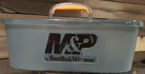 SMITH & WESSON M&P HARD PLASTIC DEALER RANGE AMMO & SUPPLY CARRY BOX