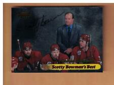 SCOTTY BOWMAN AUTOGRAPHED 1999-00 BOWMAN'S BEST CARD SIGNED DETROIT RED WINGS