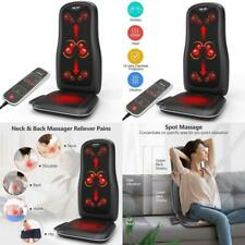 Shiatsu Back Neck Massager with Heat Massage Chair Pad Full Body Pain Relief