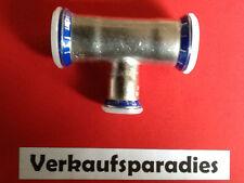 Geberit Mapress Edelstahl T Stück reduziert 15-54 mm Pressfitting Cr Ni Mo Stahl