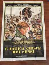 MANIFESTO 4F ROMA,L' ANTICA CHIAVE DEI SENSI, GLIGOROV,  SEXY HARD EROTICO