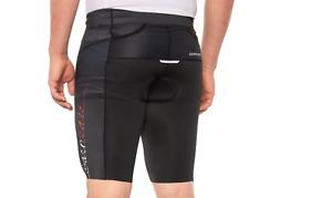 NEW LOUIS GARNEAU BLACK BIKE shorts cycling biking shorts tri-vent mens XXL