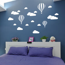 DIY Large Clouds Balloon Wall Decals Stickers Baby Kids Room Home Decor Art Sale