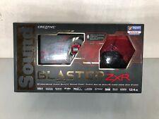 Creative Sound Blaster ZxR PCI Express (70SB151000000) Sound Card COMPLETE PKG