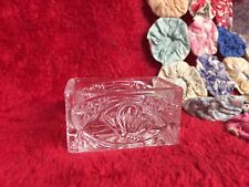 Clear Crystal Salt Cellar