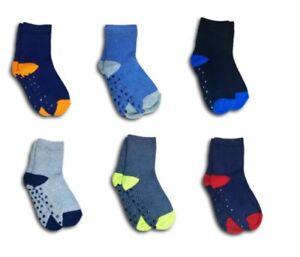 Boys Kids Children ABS Anti Slip Non Slip Terry Cotton Winter Warm Socks 1 Pair