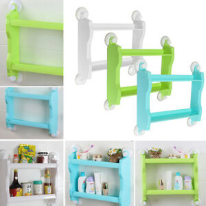 Corner Rack Organizer Suction Cup Bathroom Shower Rack Wall Basket Storage Shelf