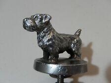 Vintage Original Heavy Metal Terrier Dog Car Mascot Hood Ornament