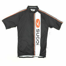 Sugoi Bike Cycling Evolution Jersey Small Black/White/Red Reflective