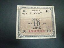 Italy 10 Lira 1943