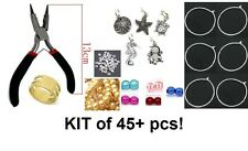 KIT - (45+ pieces) -  DIY Wine Charm Rings - Make your own