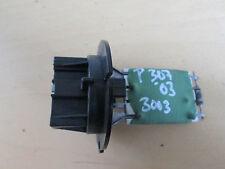 Series Resistor Gebläsemotor Heater A/c Peugeot 307 Break Year Built 03