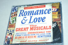 NEW * ROMANCE & LOVE * THE GREAT MUSICALS * 2 CD * READERS DIGEST *NEW & SEALED