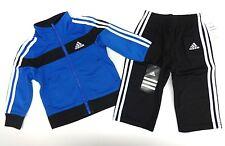 ADIDAS Jogginganzug Jacke Hose 74/80  blau/schwarz US Gr 12 month Trainingsanzug