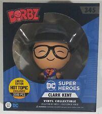 Funko Dorbz LE 3500 EXCLUSIVE Clark Kent #345 Superman DC Comics Vinyl Figure