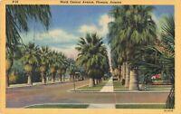 Postcard North Central Avenue Phoenix Arizona