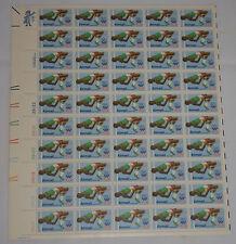 31c 1980 Olympics Airmail mint sheet - mint, never hinged - High Jump