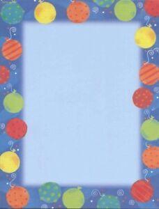 """Gartner Studios Design Paper 8 1/2"""" x 11"""" Balloons on Blue 40 pack"""