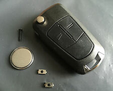 Repair Kit for Vauxhall Opel Astra Corsa Vectra Zafira 2 button remote flip key