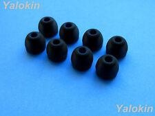 8pcs Medium Size (BK) Replacement Adapter Eartips Ear-Buds for Jaybird X3