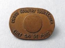 CANADA SKIING RACE CHEF DE SKI CROSS COUNTRY TOUR LEADER AWARD PIN VINTAGE RARE