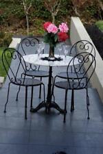 Bella 5 Piece Patio Setting Marble Cast Iron Garden Outdoor Furniture Set Home