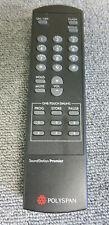 ORIGINALE polyspan Soundstation PREMIER TV / Ricevitore / DVD / VCR Remote Control