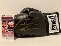 "Riddick Bowe ""Big Daddy"" signed Everlast boxing glove. JSA certified"
