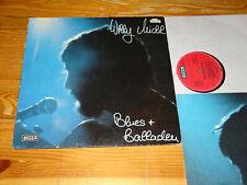 WILLY MICHL - BLUES & BALLADEN / GERMANY-VINYL-LP 1976 (VINYL MINT-) & INLET